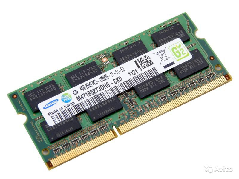 Ремонт, замена оперативной памяти ноутбука