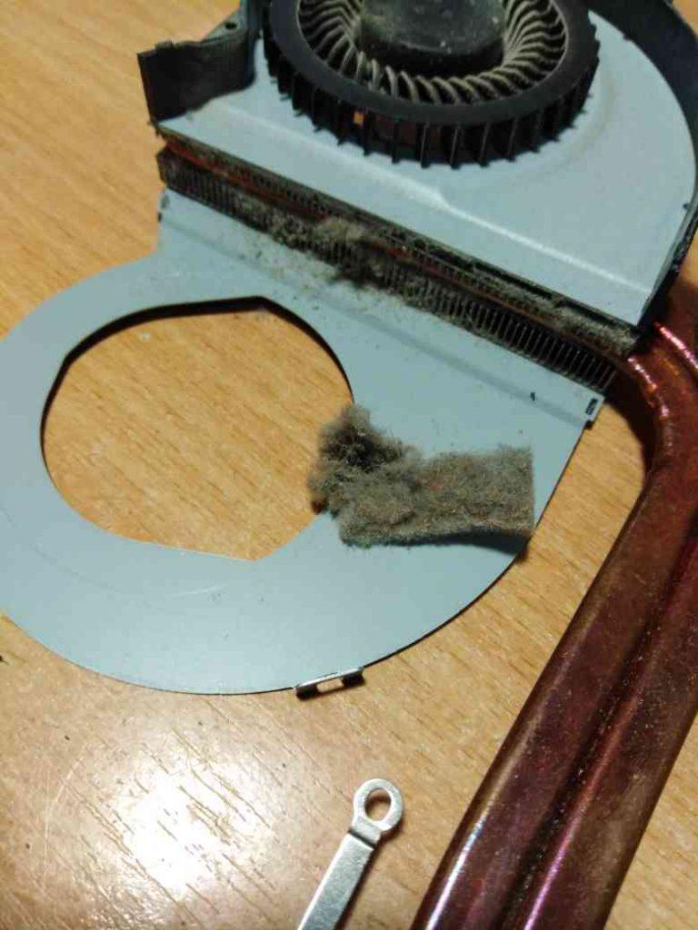 чистка ноутбука asus от пыли с заменой термопасты (1)