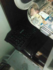 Ремонт входа питания ноутбука и его посадочного места